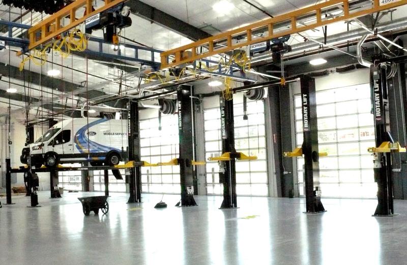 Custom Rotary Lift Installation