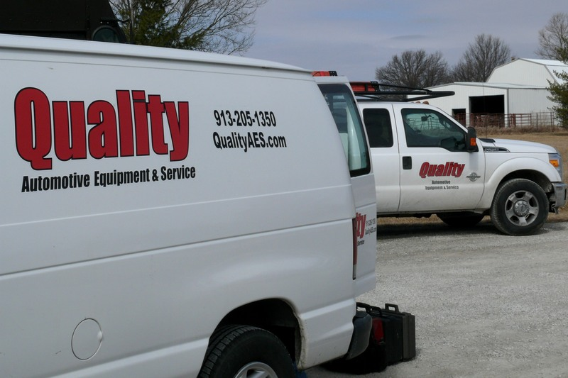 Quality AES Service Van and Truck
